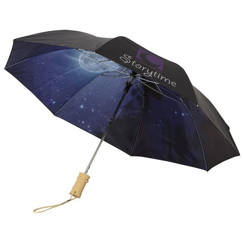 21 Zoll automatischer Regenschirm, 2 Teile, einem klaren Nachthimmel