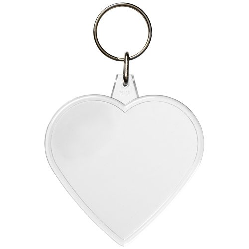 Combo Schlüsselanhänger in Herzform