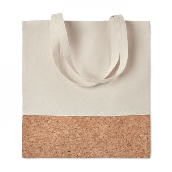 Illa Tote - Einkaufstasche mit Korkbesatz