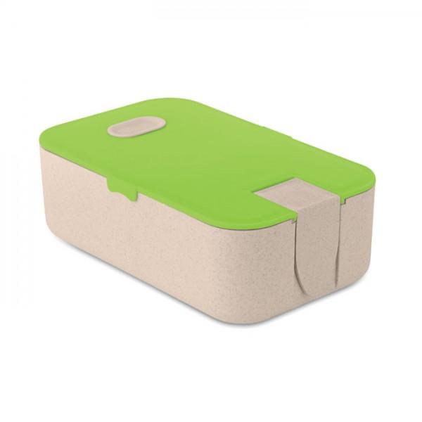 Lunch2go - Lunch-Box aus PP/Weizenstroh