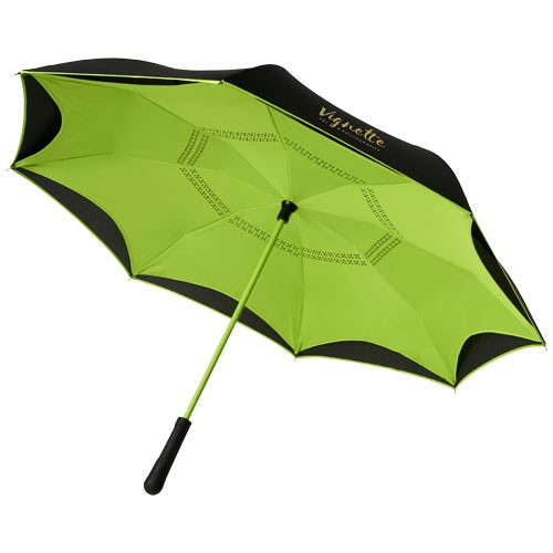 "Yoon 23"" umkehrbarer farbiger gerader Regenschirm"