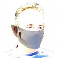 """Mund Nase Maske """"EVA"""" Behelfs Mundschutz"""
