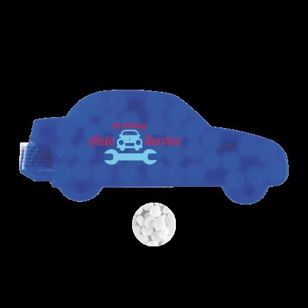 Mintdispenser Auto ca. 6 gr. minties Zutatenaufkleber TAMPONDRUCK