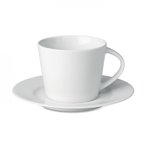 Paris - Cappuccino Tasse und Untertasse