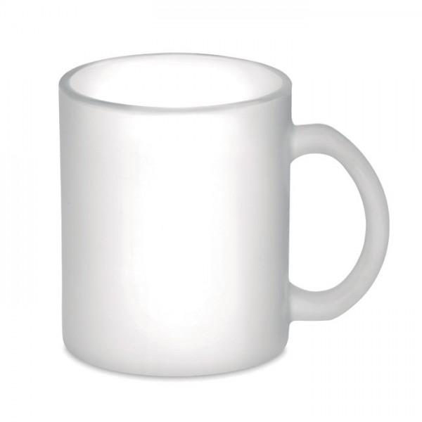 Sublimatt - Kaffeebecher aus Glas 300 ml