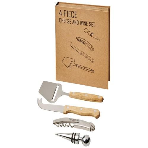 Reze 4-teiliges Wein- und Käse-Geschenkset
