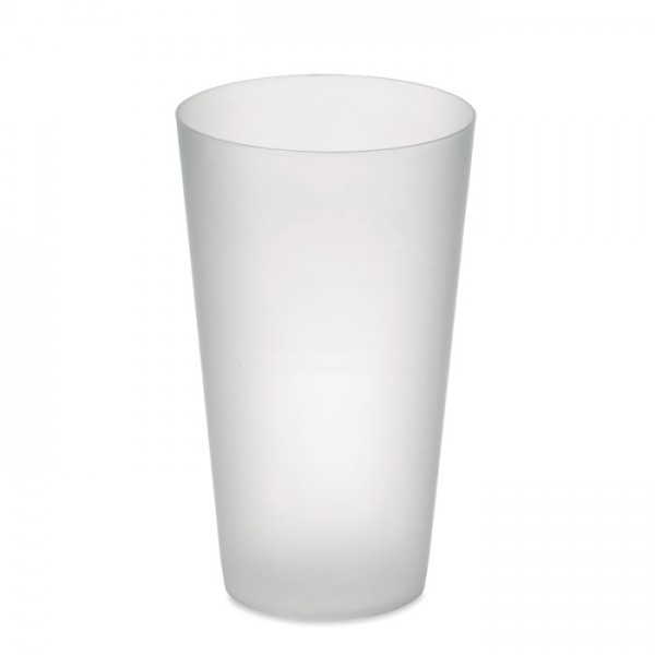 Festa Cup - Frosted PP cup 550 ml