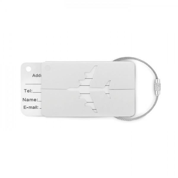 Fly Tag - Kofferanhänger aus Aluminium