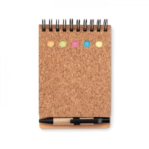 Multicork - Notizbuch mit Markern