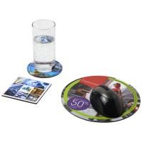 Q-Mat® Mousepad- und Untersetzer-Set Combo 4